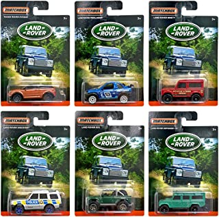 Matchbox - Land Rover - Exclusive Limited Edition Set of 6 Diecast