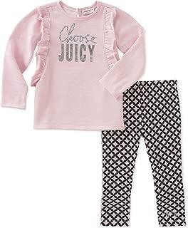 Juicy Couture 女童时尚上衣和打底裤套装