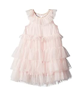 Mesh Tiered Sleeveless Party Dress (Toddler)