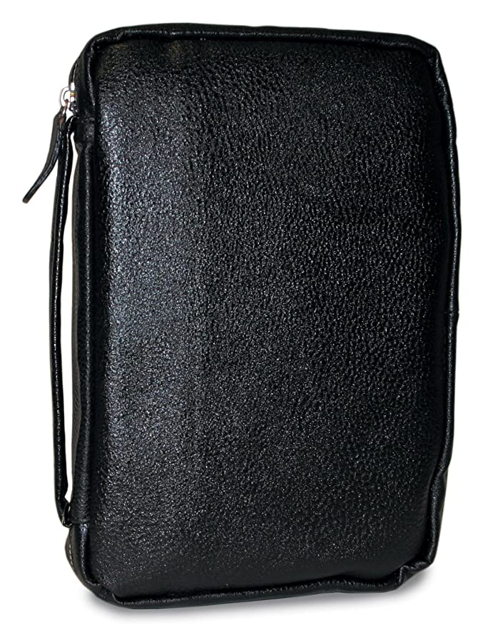 Divinity Boutique Leather Bible Cover Midnight Black - Extra Large (19556)