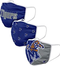 FOCO NCAA Team Logo Reusable Washable Fashion Cloth - 3 Pack