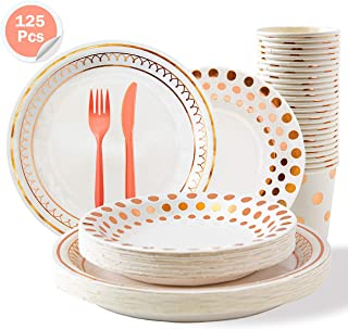Best gold rose plates Reviews