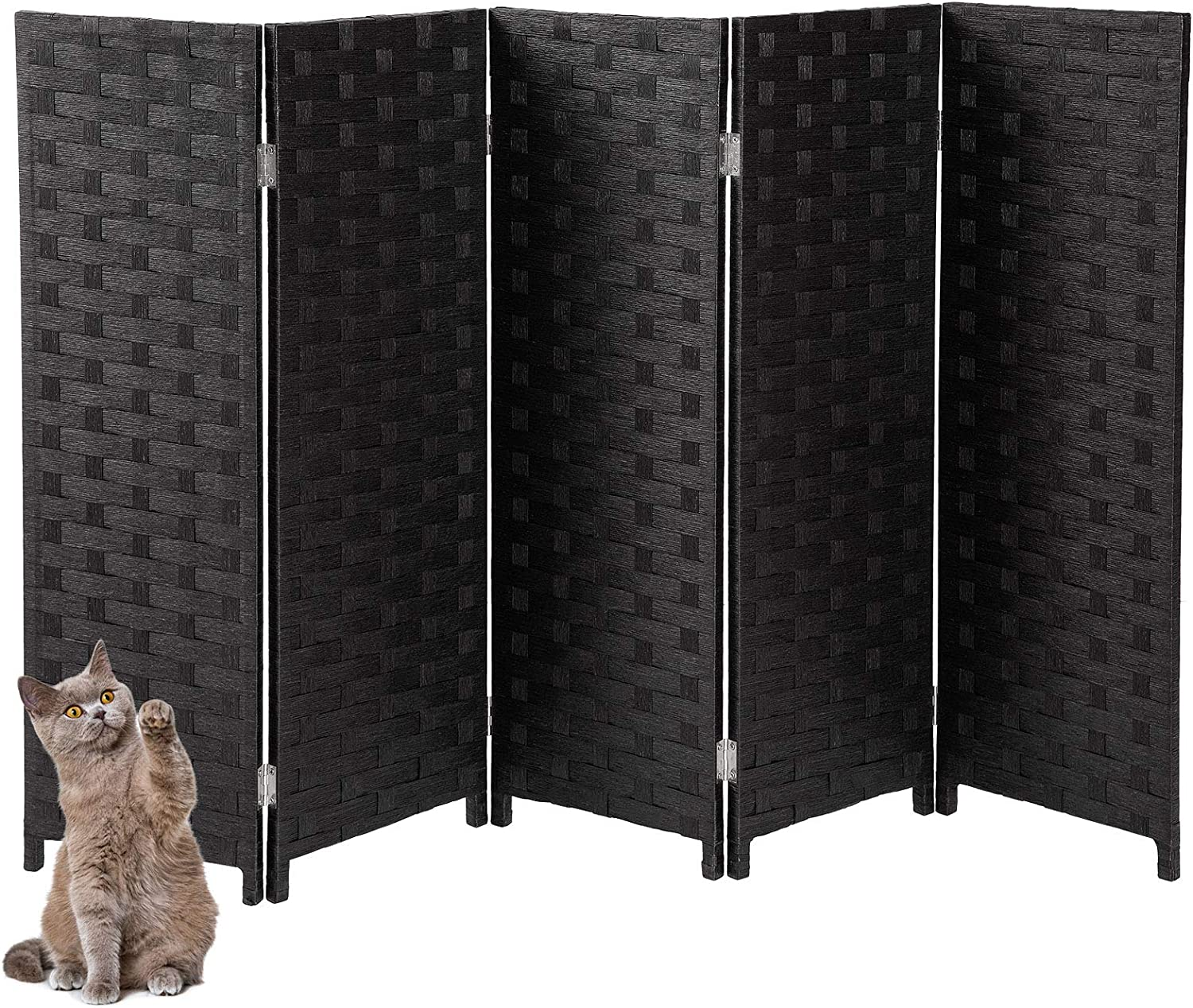 Yangbaga Cat Litter Box Privacy Screen Wide Today's Tampa Mall only 3.1' Foldab High 5'