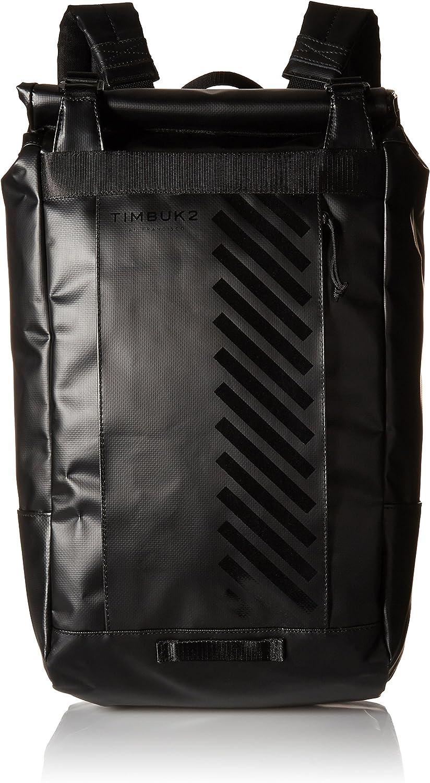 Timbuk2 Heist RollTop RF Backpack, Jet Black, One Size