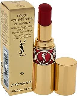 Yves Saint Laurent Rouge Volupte Shine Oil-in-stick Lipstick, Rouge Tuxedo, 0.15 Ounce