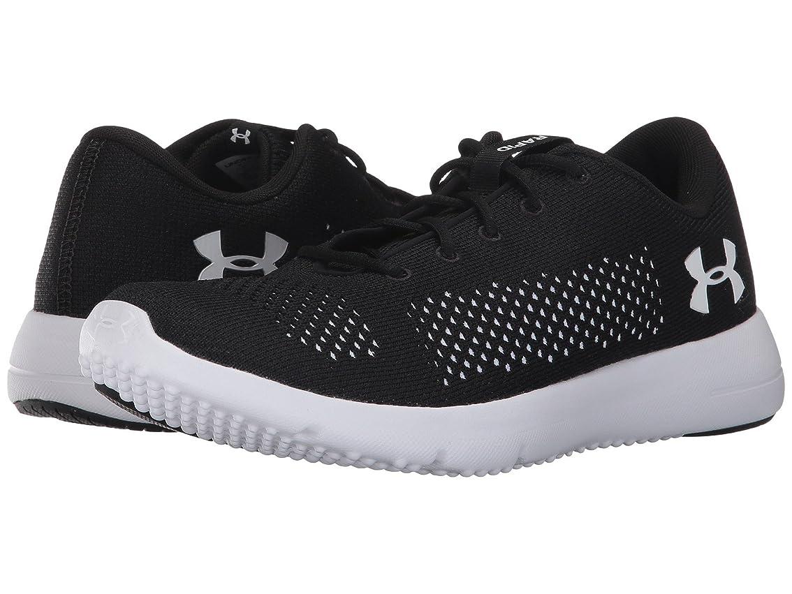 調べるシャワー熱(アンダーアーマー) UNDER ARMOUR レディースランニングシューズ?スニーカー?靴 Rapid Black/White/White 11 (28cm) B - Medium