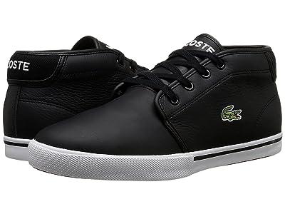 Lacoste AMPTHILL LCR3 (Black/Black) Men
