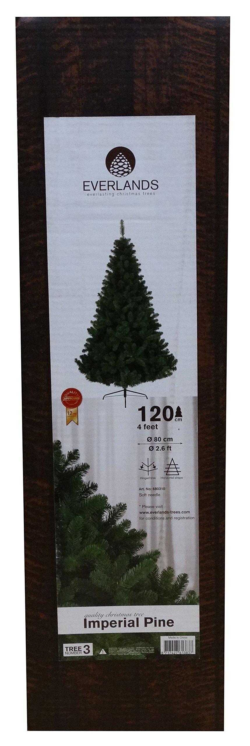Kaemingk 680310 - Árbol de Navidad Artificial, PVC, 120 cm, Color ...