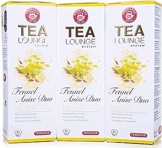 Teekanne Tealounge Kapseln - Fennel Anise Duo No. 631 Käutertee 3x8 Kapseln
