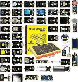 KEYESTUDIO Actualizado 48-en-1 Kit de Módulos de Sensores con Tutorial para Arduino