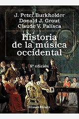Historia de la música occidental: Octava edición Paperback