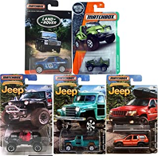 Matchbox Land Rover exclusive vehicles & JEEP 2016 series Land Rover Discovery Police Rescue / Jeep 75th Anniversary JEEP Hurricane / Grand Cherokee / Jeep Willys 4 x4 JEEP Cliff hanger Army Green