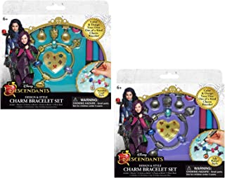 Disney Descendants Design & Style Charm Bracelets Set