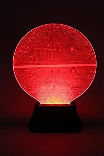Star Wars 3D Illusion Platform Night Lighting led 7 Color Change Decor Desk Table lamp Lighting (Red, Green, Blue, Yellow,...