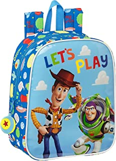 Mochila Infantil de Toy Story Let's Play, 220x100x270mm, azul