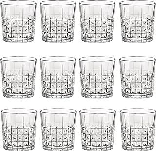 Bormioli Rocco Este clara de cristal Vasos de whisky - 300 ml - Envase de 12