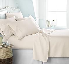 Simply Soft SS-6PC-TWINXL-IVORY Ultra Soft 6 Piece Bed Sheet Set TwinXL Ivory