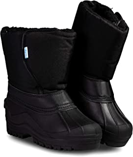 ZOOGS Kids Snow Boots for Toddlers, Boys, and Girls