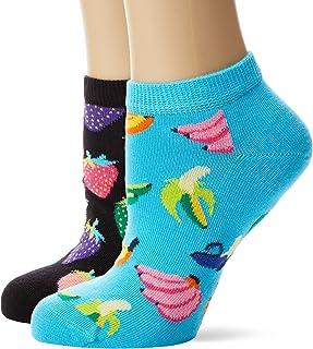 Multicolour 170 Talla del fabricante: 41-46 para Hombre Multicolor 7-10 Pack de 3 Happy Socks 3-pack Multi Dot Liner Sock Calcetines