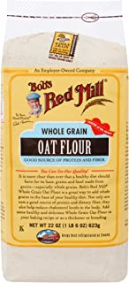 Bob's Red Mill Whole Grain Oat Flour, 22-ounce (Pack of 4)