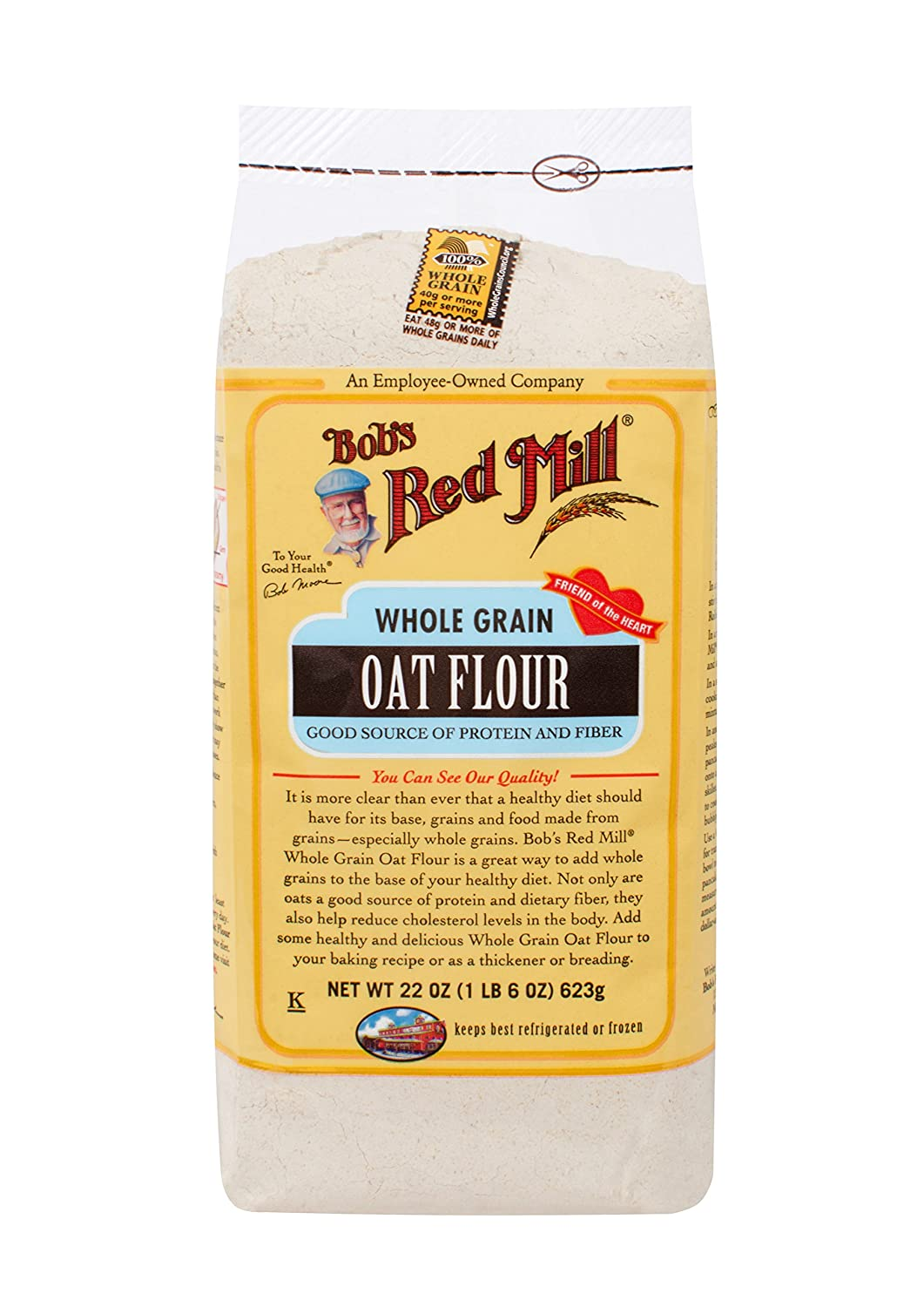 Bob's Red Mill Flour Pack of4 mart Oat 22-ounces Translated
