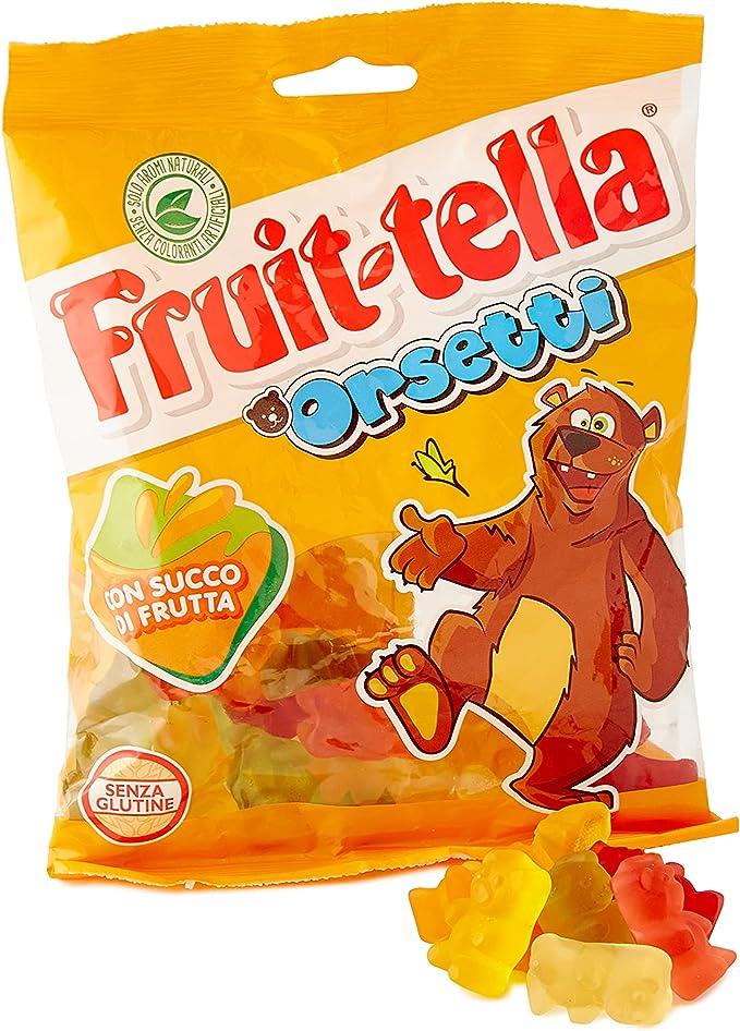 312 opinioni per Fruittella Orsetti, Caramelle Gommose, Gusto Frutti Assortiti con Succo di