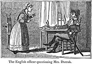 Lydia Darragh (1729-1789) Nirish-American Spy An English Officer In Occupied Philadelphia Questioning Mrs Lydia Darragh December 1777 Wood Engraving 1845 Poster Print by (24 x 36)