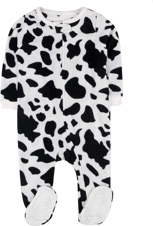 Leveret Fleece Baby Boys Girls Pajamas Ranking TOP5 Tod overseas Kids Sleeper Footed