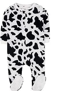 cow print toddler pajamas