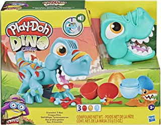 Play-Doh Dino Crew Crunchin' T-Rex Toy for Kids 3 Years and Up with Funny Dinosaur Sounds and 3 Eggs, 2.5 Ounces Each, No...