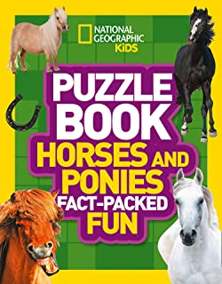 Puzzle Book Horses and Ponies: Brain-Tickling Quizzes, Sudokus, Crosswords and Wordsearches