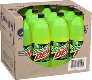 Mountain Dew Energised Soft Drink, 12 x 1500 g