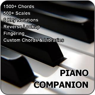 Piano Companion PRO: chords, scales, progression builder, ci