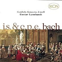 J.S. Bach: Harpsichord Concerto No. 1 in D Minor, BWV 1052 - C.P.E. Bach: Harpsichord Concerto in D Minor, Wq. 23