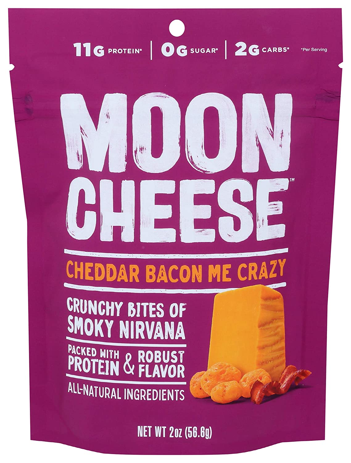 MOON CHEESE Manufacturer OFFicial Free shipping anywhere in the nation shop Cheddar Bacon Me OZ Bites Crazy 2