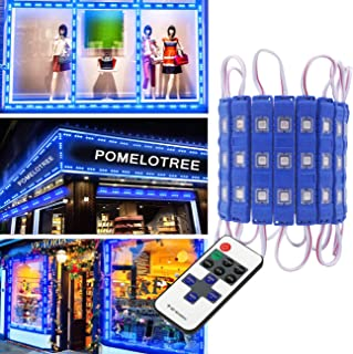 LED Window Lights LED Storefront Lights LED Light Module Decorative Lights for Letter Sign Advertising Signs with Tape Adhesive Backside for Business 20FT 40pcs Pomelotree