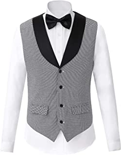 Men's Unique Advanced Custom Wedding Vest Casual Dress Modern Casual Vest Waistcoat Slim Fit Casual Business