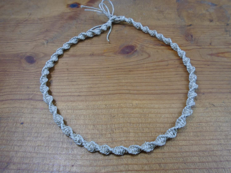 BEACH HEMP JEWELRY Macrame Hemp Handm Choker Necklace Adjustable Max 43% OFF Max 57% OFF
