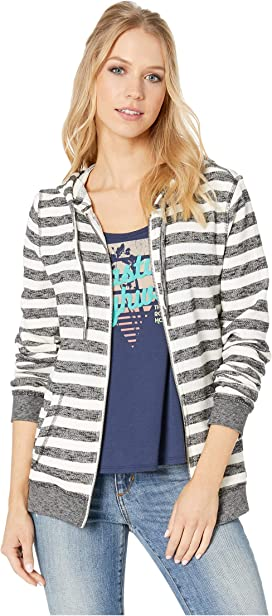 167136ca0392b Roxy Trippin Zip Hoodie at Zappos.com