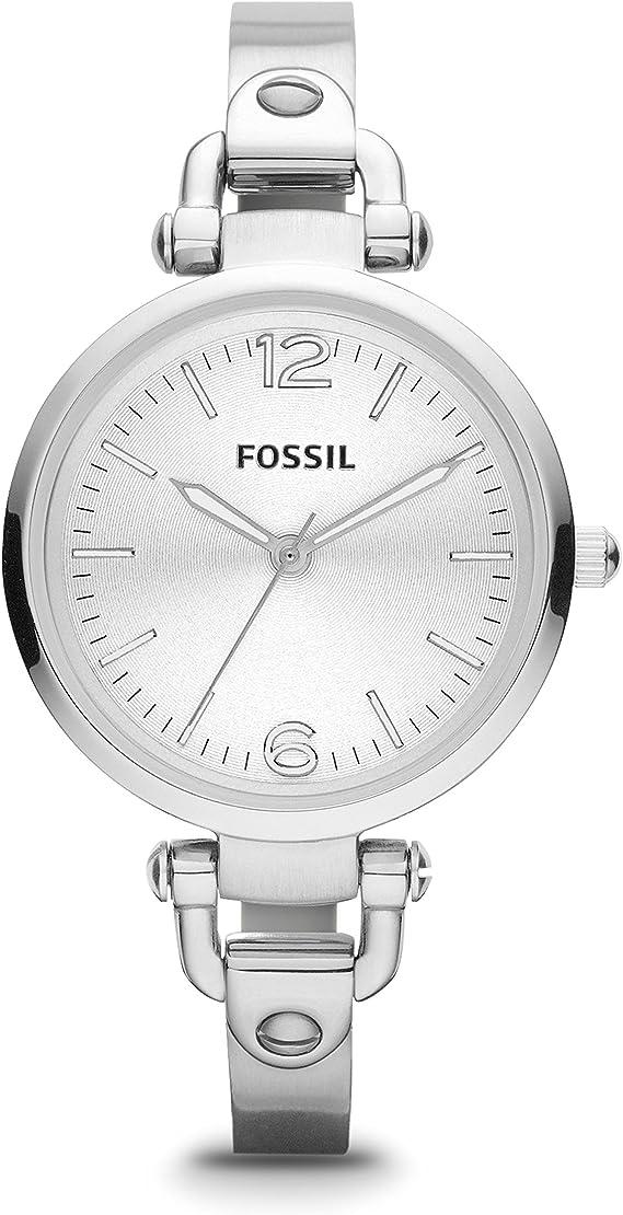 Fossil ES3083 Ladies Georgia Silver Watch