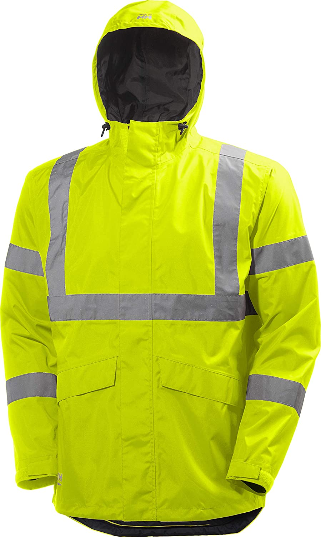 Helly Hansen Workwear Men's Alta Shelter High Visabilty Big and Tall Jacket