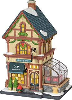 Department 56 Christmas in The City Village Stems and Vines Garden House Lit Building, 8.75