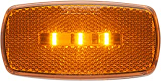 Optronics MCL32AS LED Surface Mount Marker Light - Yellow with White Base