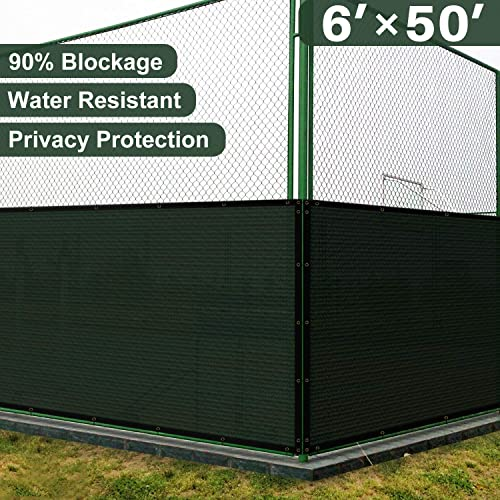 Chain Link Fence Cover Amazon Com