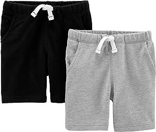 Carter's - Pantalones Cortos de Rizo para niño (2 Unidades)