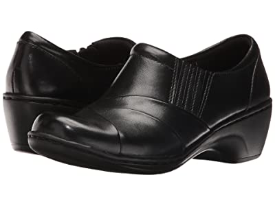 Clarks Channing Essa (Black Leather) Women