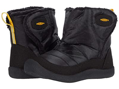KEEN Kids Howser II Mid (Toddler) (Black/Keen Yellow) Boy