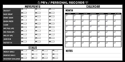 gym record board