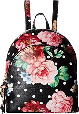 Charlotte Double Zip Mini Backpack
