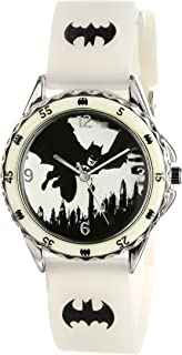 Batman Kids' BAT9005 Analog Display Analog Quartz Green Watch